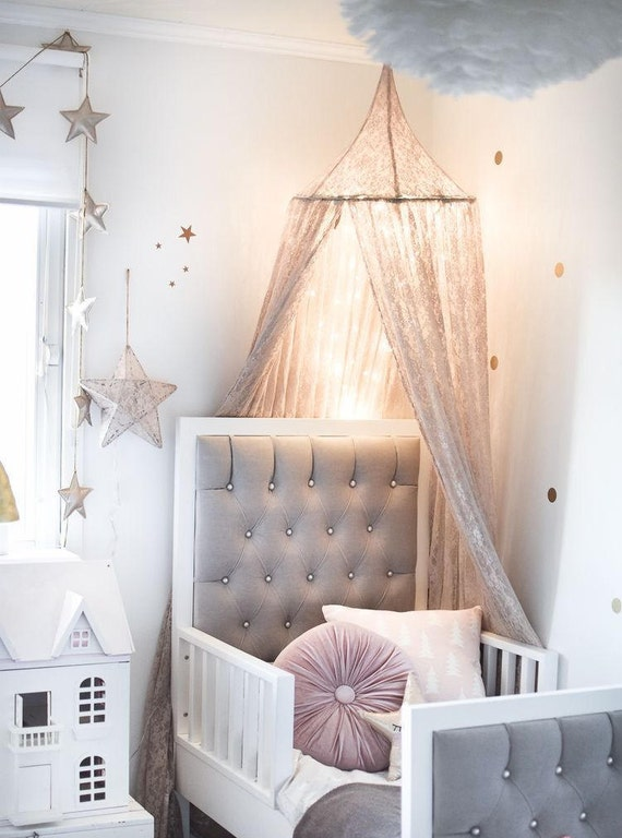 Like this item? & Lace Crib CanopyPrincess Bed Canopy Wall Decor Choice of