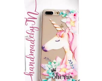 Unicorn iPhone 7 case iPhone 7 Plus case iPhone 6S case iPhone 6S Plus case iPhone 6 case iPhone 6 Plus case iPhone 5S case iPhone SE case