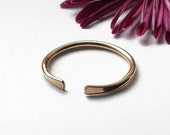 Open Stacking Ring, Sterling Silver & Gold ring, Delicate open ring, Adjustable Ring, Cuff ring for women, Midi ring, Thumb Ring, Minimalist