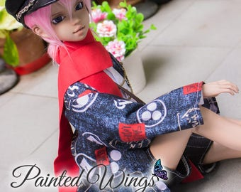 Suave Taisho Set | SD, MSD | BJD Clothing