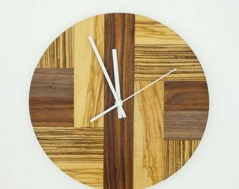 Design Wooden Clock - Wall Clock - Unique Clock