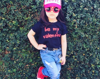 Be my valentine shirt, kids love shirt, i love you, i heart you shirt, kids valentines shirt, hearts, valentines day shirt, valentines gift