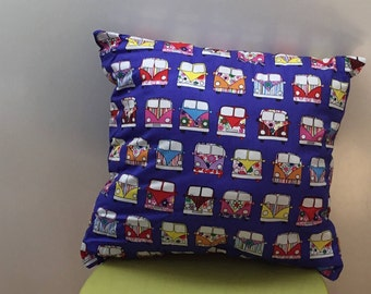 Campervan cushion, throw pillow, stuffed cushion,  decorative pillow, stuffed cushion, home decor, gift for her, campervan accessory,