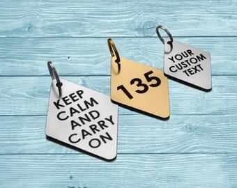 Personalized Keychain, Engraved Keychain, Custom Keychain,  Key Tag, Personalized Tag, Custom Tag, Engraved Tag