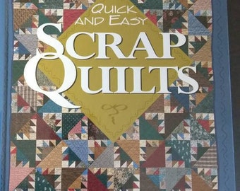 Scrap Quilts , 1995 , Patricia Wilens , Quick And Easy Scrap Quilts , Book