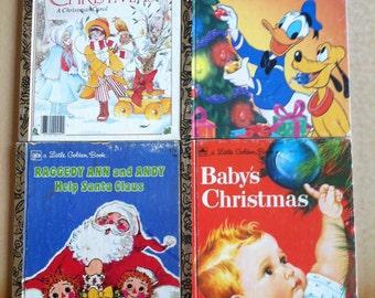 Little Golden Books Christmas Stories