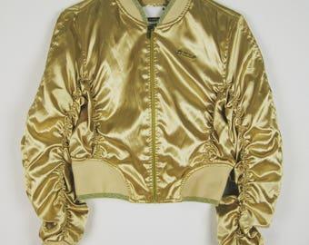 Vintage Golden Southpole Bomber Jacket