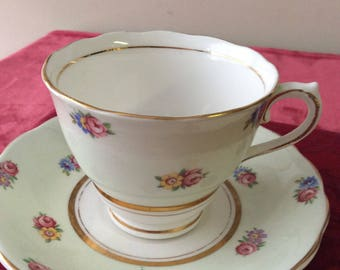 CLEARANCE Colclough Cup and Saucer Fine Bone China Vintage     #300