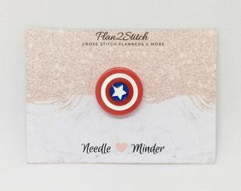 Captain America Needle Minder