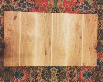 Red Oak & Poplar Cutting Board