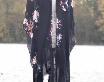 floral kimono scarf | one size