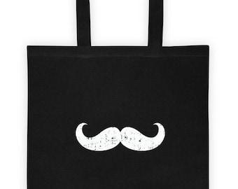 Mustache Tote bag