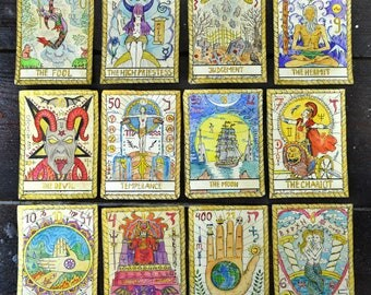 Divine image intended for printable tarot cards