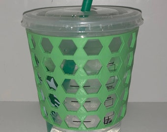 Reusable Starbucks Cold Cup Sleeve (Grande/Venti)