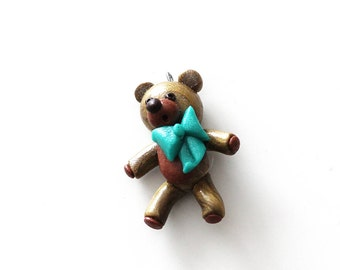Baby Blue Ribbon Bear
