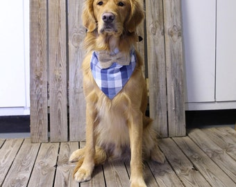 Dog Bandana with Bow tie