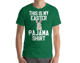 This Is My Easter Pajama Funny Woman Shirt