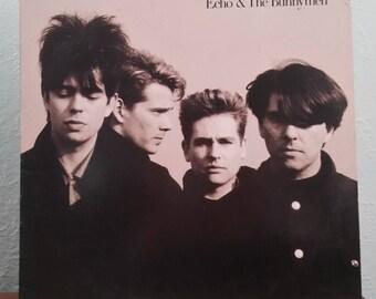 "Echo & The Bunnymen (ORIGINAL '87) ""Echo The Bunnymen"" LP"