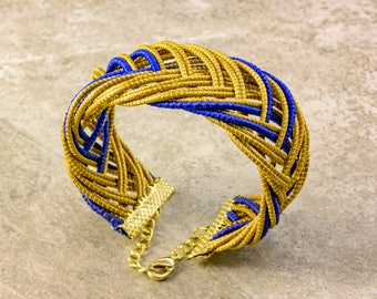 Regina Golden Grass Bracelet