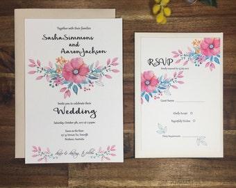 Isabel Wedding Invitation Set