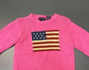 Ralph Lauren Sweater Size 4T