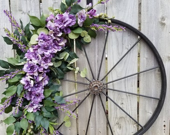 """23"""" Bicycle tire wreath"""