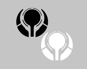 Halo Prometheum/Forerunner Reclaimer Emblem Logo