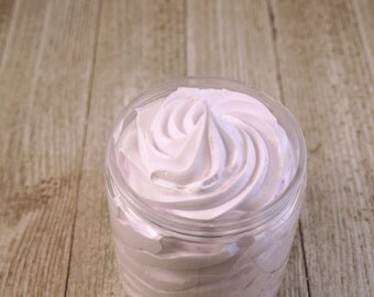 Lavender Scented Whipped Body Butter, Body Cream, Vegan Body Butter, Natural, Moisturizing, Choose a Fragrance