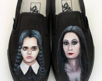 Custom Vans Shoes - Hand Painted Portraits