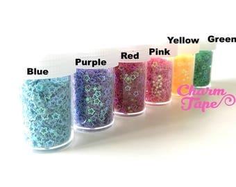 Loose Stars glitters, bottle star glitter UV resin, nail gel, acrylic nail, nail polish glitter Iridescent Embellishment Costume Craft