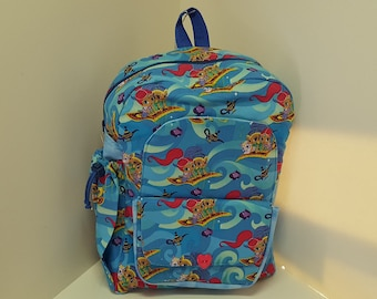 Magic Carpet Ride Preschool Backpack