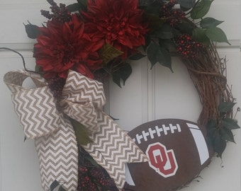 Oklahoma Sooners Football OU University Of Decor NCAA