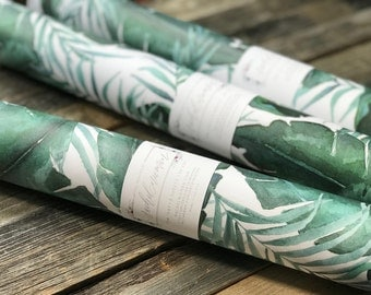 """Greenery Gift Wrap Sheets 