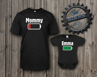 Mommy and Me Shirts,Funny Mom and Child Matching Shirts,Mother Daughter Shirts,Mother Son Shirts,Funny baby shower gift,New Mom shirt,009_1