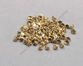 50Pcs, 4.5mm Raw Brass Beads GY-HTN205