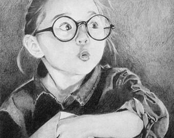 Custom Hand-Drawn Portrait