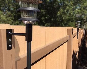 Solar Light Fence Mount (3 Pack)