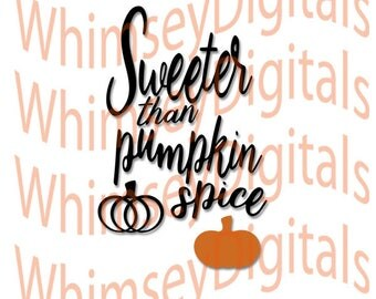 Pumpkin Spice, Sweet Autumn Digital Download SVG Cut File, Vinyl Cutting Design, Tshirt, Bib, SVG, Studio3, MTC