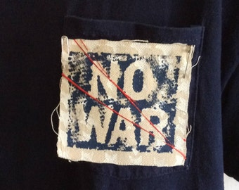 ANTI WAR PATCH,Political patch,No War,revolution,resistance,antifa,anarchy,political patches,anti trump,punk patch,backpack patch,patch art