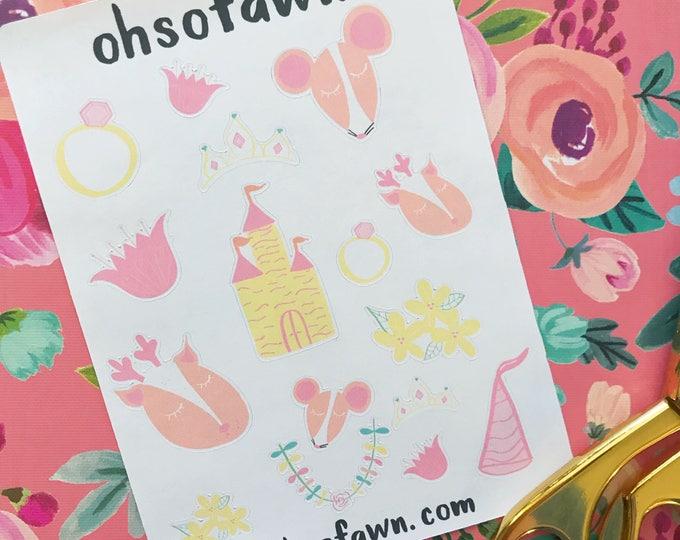Fairytale Princess Stickers