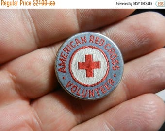 Summer Sale Original WW2 US Red Cross Volunteer Badge