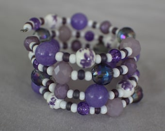Intro to Spring- Coil Bracelet