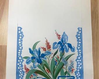 Original Sirooni Gouache Textile Design