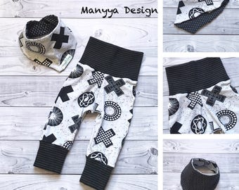 Organic Baby Outfit, TIC TAC TOE Baby Clothes, Gray Baby Outfit, Gray Baby Clothes, Baby Shower Gift, Baby Clothes, Baby Boy Clothes