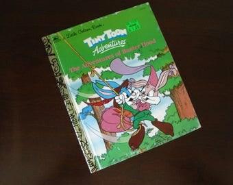 Tiny Toon Adventures - The Adventures of Buster Hood - Vintage Children's Little Golden Book – 111-72