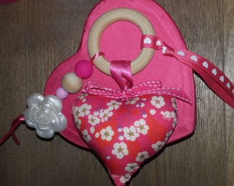 good luck! educational and cherry dentition.fleurs rattle toy.