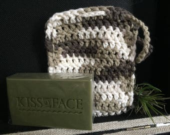 Crochet Soap Sock