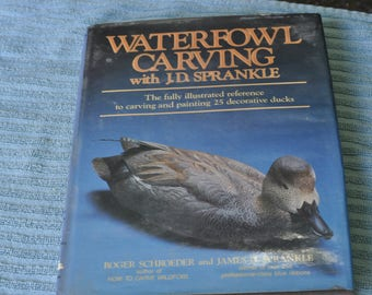 Waterfowl Carving J.D. Sprankle