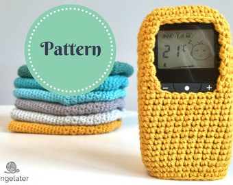 NeoNate baby monitor cover crochet pattern