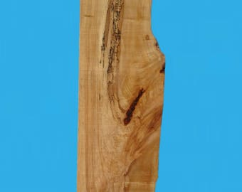 "DIY live edge maple piece 33.75"" long by 10.5"" to 132.5"" deep by 1.5"" thick-shelf piece,craft piece 627"